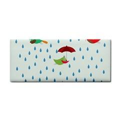 Birds in the rain Hand Towel