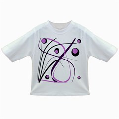 Pink Elegant Design Infant/toddler T Shirts