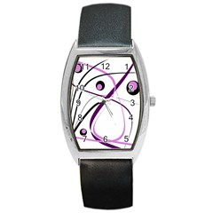 Pink elegant design Barrel Style Metal Watch