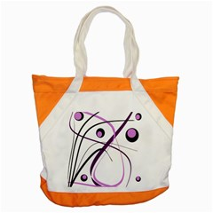 Pink elegant design Accent Tote Bag