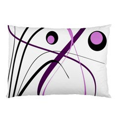 Pink Elegant Design Pillow Case (two Sides)