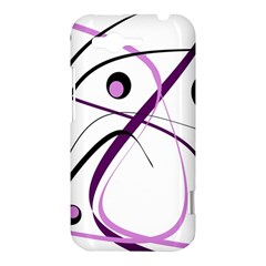 Pink elegant design HTC Rhyme