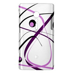 Pink elegant design Sony Xperia ion