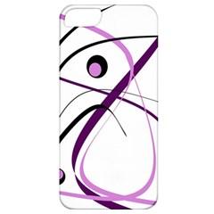 Pink elegant design Apple iPhone 5 Classic Hardshell Case
