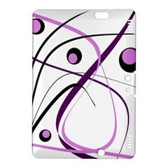 Pink elegant design Kindle Fire HDX 8.9  Hardshell Case