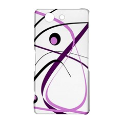 Pink elegant design Sony Xperia Z3 Compact