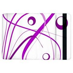 Purple elegant design iPad Air Flip