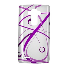 Purple elegant design LG G4 Hardshell Case