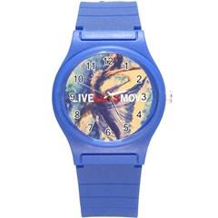 13528811 10209714109751973 5392282854225401171 N Round Plastic Sport Watch (S)