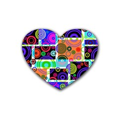 Pizap Com14616118485632 Heart Coaster (4 pack)