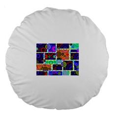 Pizap Com14616118485632 Large 18  Premium Round Cushions