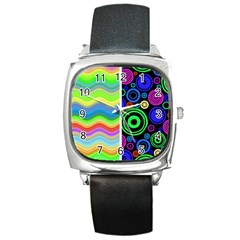 Pizap Com14604792917291 Square Metal Watch