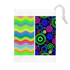 Pizap Com14604792917291 Drawstring Pouches (extra Large)