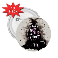 No Rest For The Wicked 2.25  Buttons (10 pack)