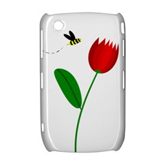 Red tulip and bee Curve 8520 9300