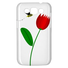 Red tulip and bee Samsung Galaxy Win I8550 Hardshell Case
