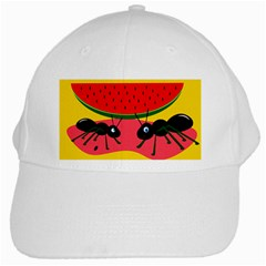 Ants and watermelon  White Cap