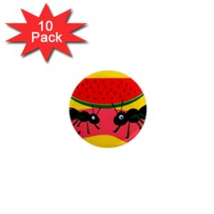 Ants and watermelon  1  Mini Magnet (10 pack)