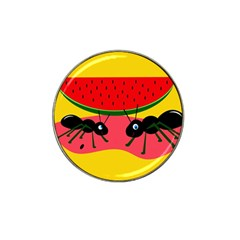 Ants and watermelon  Hat Clip Ball Marker (10 pack)