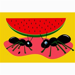 Ants And Watermelon  Collage Prints