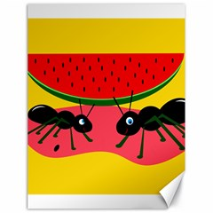Ants and watermelon  Canvas 18  x 24