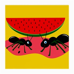 Ants and watermelon  Medium Glasses Cloth (2-Side)