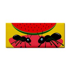 Ants And Watermelon  Hand Towel