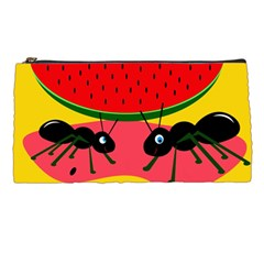 Ants and watermelon  Pencil Cases