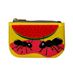 Ants and watermelon  Mini Coin Purses
