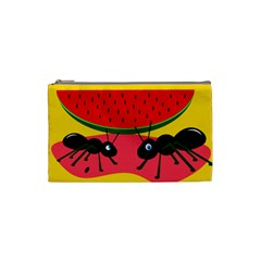 Ants and watermelon  Cosmetic Bag (Small)