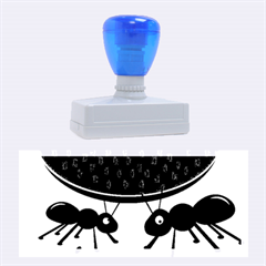 Ants And Watermelon  Rubber Stamps (large)