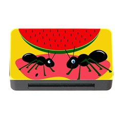 Ants and watermelon  Memory Card Reader with CF