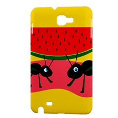 Ants and watermelon  Samsung Galaxy Note 1 Hardshell Case