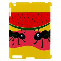 Ants and watermelon  Apple iPad 2 Hardshell Case (Compatible with Smart Cover)