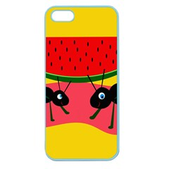 Ants and watermelon  Apple Seamless iPhone 5 Case (Color)
