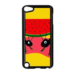 Ants and watermelon  Apple iPod Touch 5 Case (Black)
