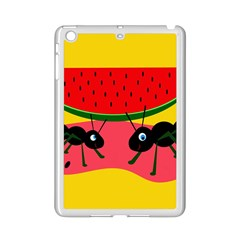 Ants and watermelon  iPad Mini 2 Enamel Coated Cases