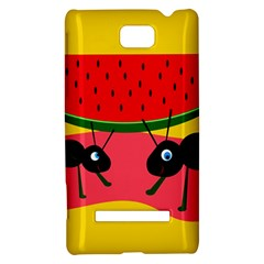 Ants and watermelon  HTC 8S Hardshell Case