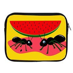 Ants and watermelon  Apple iPad 2/3/4 Zipper Cases