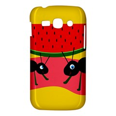Ants and watermelon  Samsung Galaxy Ace 3 S7272 Hardshell Case