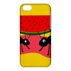 Ants and watermelon  Apple iPhone 5C Hardshell Case