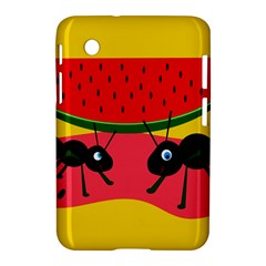 Ants and watermelon  Samsung Galaxy Tab 2 (7 ) P3100 Hardshell Case