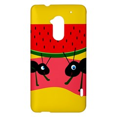 Ants and watermelon  HTC One Max (T6) Hardshell Case