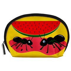 Ants and watermelon  Accessory Pouches (Large)