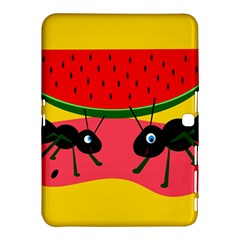 Ants and watermelon  Samsung Galaxy Tab 4 (10.1 ) Hardshell Case