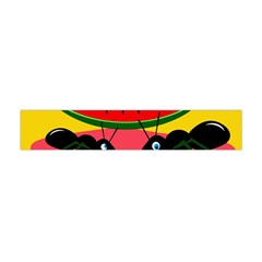 Ants and watermelon  Flano Scarf (Mini)