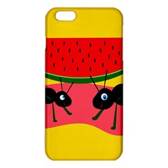 Ants and watermelon  iPhone 6 Plus/6S Plus TPU Case