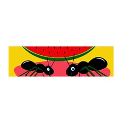 Ants and watermelon  Satin Scarf (Oblong)