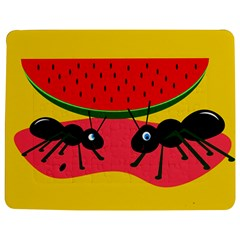 Ants and watermelon  Jigsaw Puzzle Photo Stand (Rectangular)