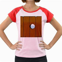 Over the fence  Women s Cap Sleeve T-Shirt
